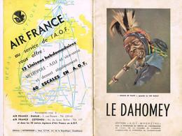 GUIDE TOURISTIQUE DU DAHOMEY - - Tourism Brochures