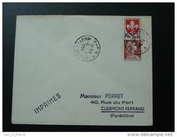 Lettre 6F Marianne De Muller Oblitération Gap Hautes Alpes 1959 - 1955- Marianne De Muller