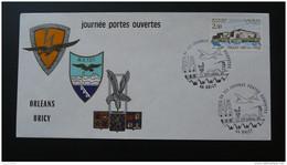Lettre Cover Base Aérienne 123 Bricy Loiret 1984 - Aviones