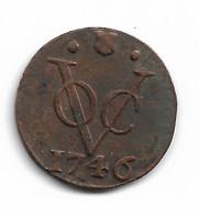VOC 1 DUIT UTRECHT 1746 - Indonesia