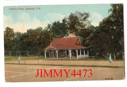POST CARD - SYDNEY - Tennis Court - Carte Datée De 1912 , C.B New South Wales Australie - Sydney