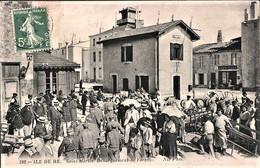 Rare Cpa St Martin Ile De Ré Le Bagne Débarquement Des Forçats - Prison