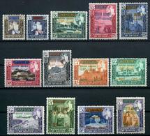 Aden, Kathiri State Of Seiyun, 1966, Definitives, Overprinted, MNH, Michel 55-67 - Sonstige