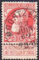 N° 74 Oblitération MOORTZEELE - 1905 Thick Beard
