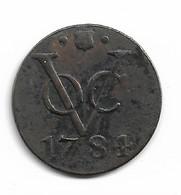VOC 1 DUIT UTRECHT 1781 - Indonesia