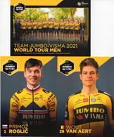 Cyclisme, Serie Jumbo Visma World Tour 2021, Sous Blister - Cycling