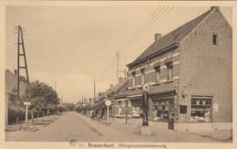 Brasschaet ,  Brasschaet , Hoogboomschesteenweg ,( Albert N° 21 ) Pompe Essence Texaco - Brasschaat