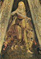 CARTOLINA  LORETO,MARCHE,L.SIGNORELLI (1491-1496),SAGRESTIA DI S.GIOVANNI-ANGELO CHE SUONA,STORIA,NON VIAGGIATA - Ancona