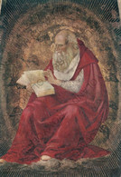 CARTOLINA  LORETO,MARCHE,L.SIGNORELLI (1491-1496),SAGRESTIA DI S.GIOVANNI-S.GIROLAMO DOTTORE DELLA CHIESA,NON VIAGGIATA - Ancona