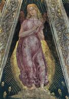 CARTOLINA  LORETO,MARCHE,L.SIGNORELLI (1491-1496),SAGRESTIA DI S.GIOVANNI-ANGELO ORANTE,CULTURA,STORIA,NON VIAGGIATA - Ancona