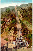 USA 1910, Colored Mint Pc Of INCLINE, California,with The Mt. Lowe Railway - Stations With Trains