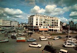 CPSM - St BRIEUC - Place Duguesclin … (voitures) - Edition Photo Y.R.Caoudal - Saint-Brieuc