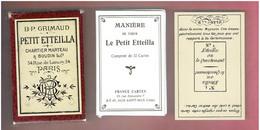 PETIT ETTEILLA 32 CARTES + NOTICE JEU DIVINATOIRE CARTOMANCIE DIVINATION - Religion & Esotericism