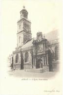 CPA AURAY - L'Eglise Saint-Gildas - Dos Non Divisé - TBE - Auray