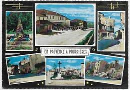 D 83.POURRIERES.  MULTIS VUES - Other Municipalities