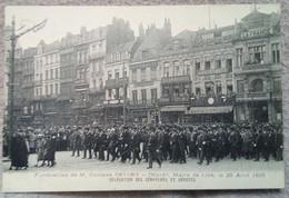 Lille Funérailles De Gustave Delort.  Délégation Sénateurs Et Députés - Lille