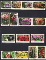 Cook Islands 2013 Yvertn° Service 103-117 Surcharge Verte *** MNH  Cote 46,50 € Flore Fleurs Bloemen Flowers - Islas Cook