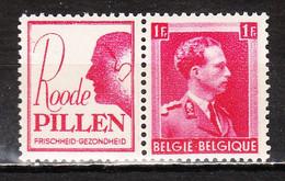 PU162**  Leopold III Col Ouvert - Roode Pillen - MNH** - LOOK!!!! - Advertising