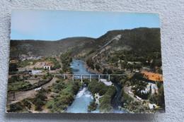 Cpm 1969, Bessèges, La Vallée De La Cèze Au Pont De Lalle, Gard 30 - Bessèges