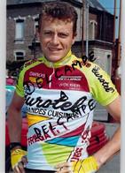CYCLISME: CYCLISTE : PHOTO KODAK:MARC FREZE - Radsport