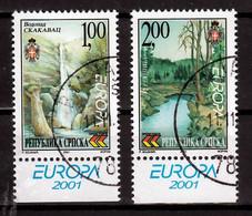 Servische Republiek  Europa Cept 2001 Type A Gestempeld Fine Used - 2001