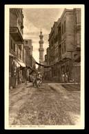 EGYPTE - LENHERT & LANDROCK N°18 - CAIRO - NATIVE STREET - Cairo