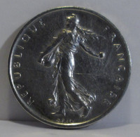Réf 427428 - 1960 - 5 Francs Argent - La Semeuse - O. ROTY - J. 5 Francs
