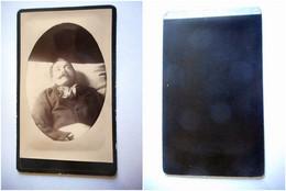 PHOTO CDV 19 EME HOMME POST MORTEM Anonyme - Ancianas (antes De 1900)