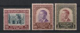 Jordan - 1954 - N°Yv. 290 à 292 - 3 Valeurs - Neuf Luxe ** / MNH / Postfrisch - Jordan
