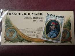 """Souvenir Philatélique De 2018 """"FRANCE - ROUMANIE - Général Berthelot 1861-1931"""" SOUS BLISTER - Souvenir Blokken"""