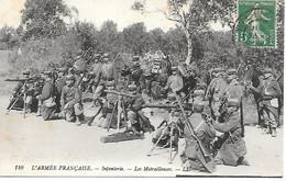 A/44       Militaria     Infanterie - Les Mitrailleuses - Manöver