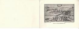 Klappkarte Deinhard Sektkellerei Koblenz, Weinpreisliste Frankreich, Merian - Publicidad
