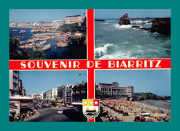 64 Biarritz ( Multivues, Blason, Baleine, Coquillage, Coquille Saint Jacques ) 94 - Biarritz