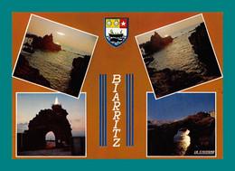 64 Biarritz ( Multivues, Blason, Baleine, Coquillage, Coquille Saint Jacques ) 105 - Biarritz