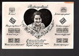 Postzegeltaal Veth (FF-67) - Briefe U. Dokumente