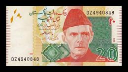 Pakistán 20 Rupees 2012 Pick 55f SC UNC - Pakistan
