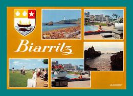 64 Biarritz ( Multivues, Blason, Baleine, Coquillage, Coquille Saint Jacques ) 111 - Biarritz
