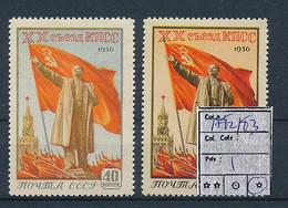 RUSSIA  YVERT 1782/83 LH - Ungebraucht