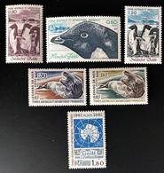 TAAF Yvert N° 86 à 91, 6 Valeurs, Magnifiques Timbres Neufs Sans Charnières, Année 1980 Complète - Unused Stamps