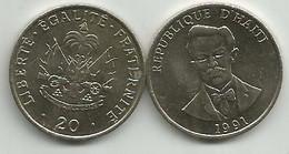 Haiti 20 Centimes 1991. High Grade - Haiti