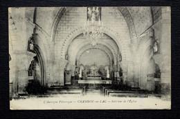 L'Auvergne Pittoresque. CHAMBON-sur-LAC _ Intérieur De L'Église - Otros Municipios