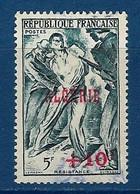 """Algerie YT 266 """" Résistance """" 1947 Oblitéré - Used Stamps"""