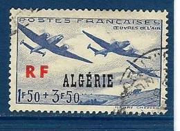 """Algerie YT 245 """" Oeuvres De L'air """" 1945 Oblitéré - Used Stamps"""