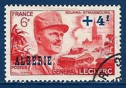 """Algerie YT 272 """" Général Leclerc """" 1949 Oblitéré - Oblitérés"""