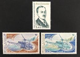 TAAF Yvert N° 92 à 94, Année 1981 Complète, Timbres Luxueux, 3 Valeurs - Unused Stamps