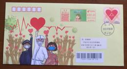 Wear A Mask,CN 20 Tangshan Post Help One Another In Defense Work To Fight COVID-19 Novel Coronavirus Pneumonia PSE - Malattie