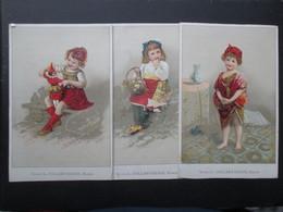 LOT 3 CHROMOS (V2102) NAMUR (2 Vues) LEON COLLART HENIN * Rue De Fer Et Rue Saint Jacques, 2 * Cravates Draperies - Altri