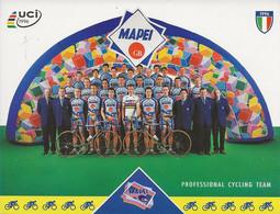 CARTE CYCLISME GROUPE TEAM MAPEI 1997 - Wielrennen
