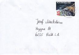 Brief Von 4861 Schörfling Am Attersee Mit 85 Cent Bärenschützklamm 2021 - 2011-... Lettere