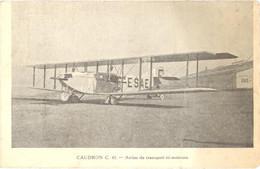 CPA - CAUDRON C. 61 - Avion De Transport Tri-moteurs - Dos Non Divisé - 1919-1938: Entre Guerras